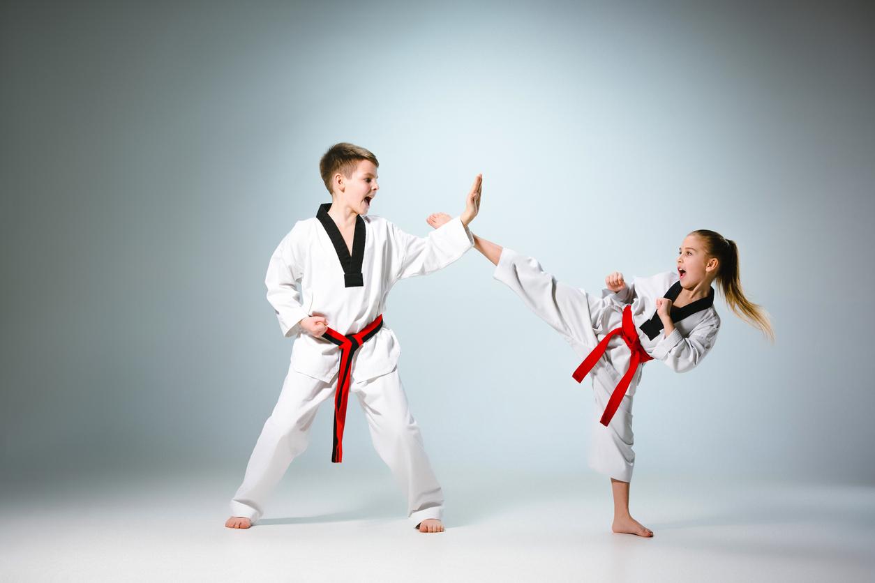 Boys vs girls fight