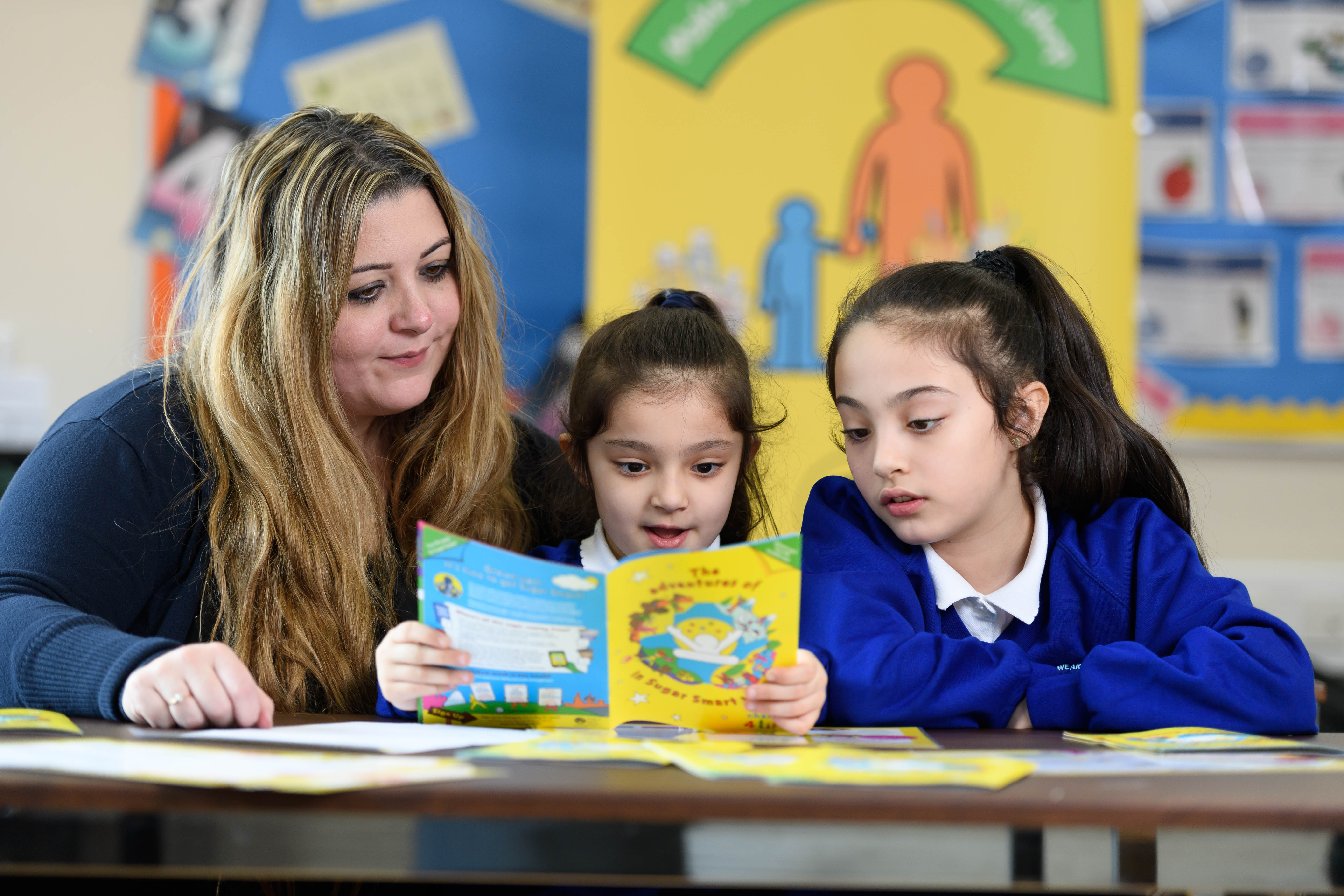 Teaching pupils and families about health and wellbeing