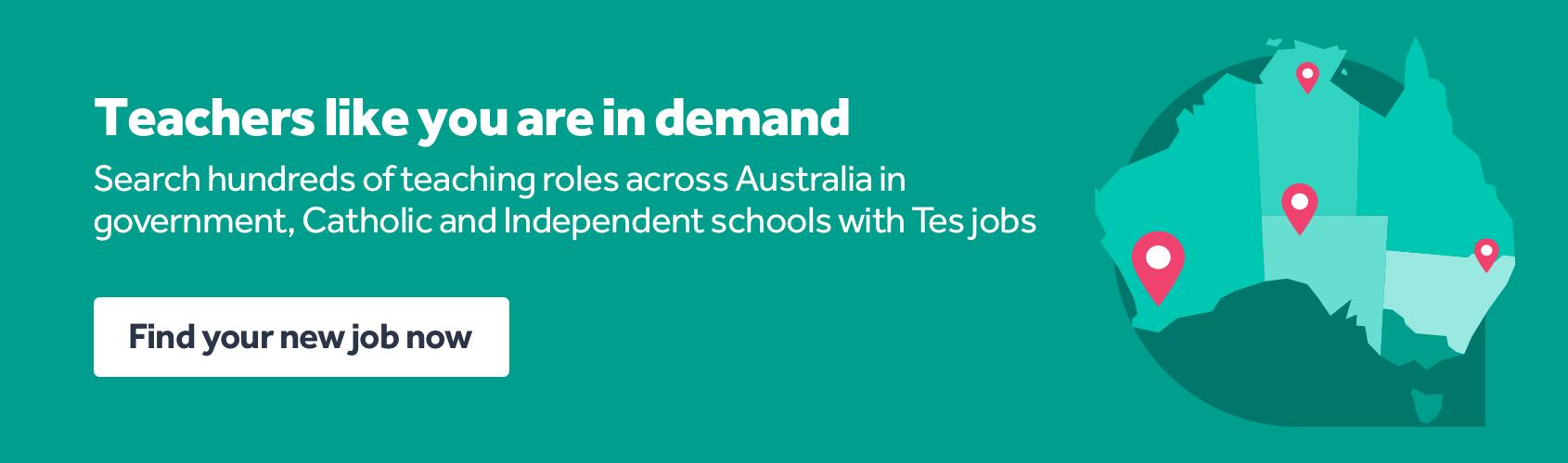 https://www.tes.com/en-au/jobs/?utm_campaign=RES-10878&utm_content=DS36530-au-jobs-blogs-july21&utm_source=tes-site&utm_medium=sponsored-article-banner
