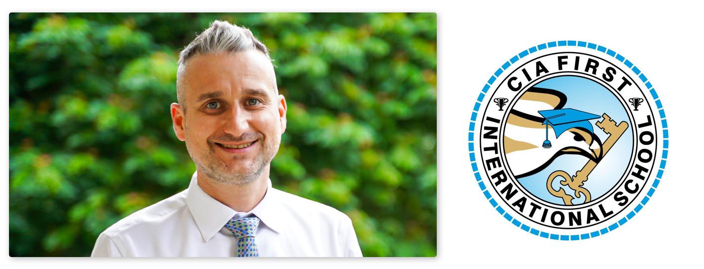 Aidan Hamill, High School Principal at CIA FIRST International School