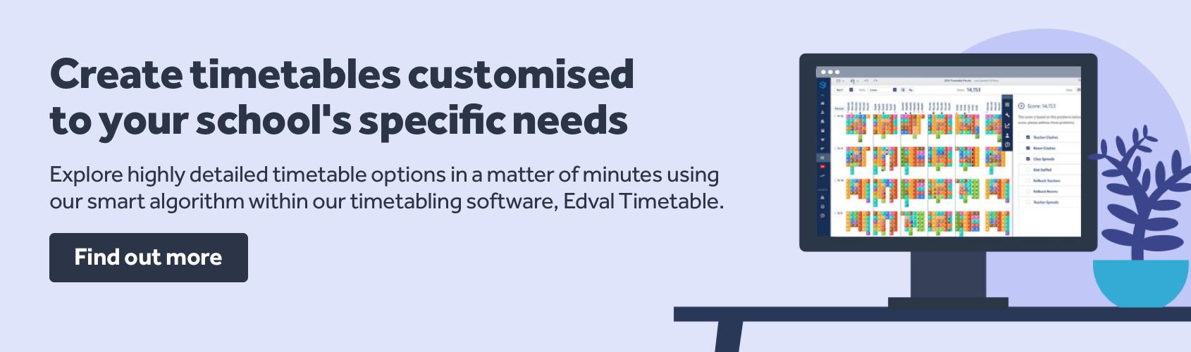 Timetabling Edval