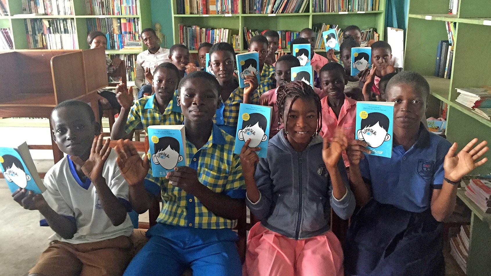 Reading Spots international literacy charity in Ghana