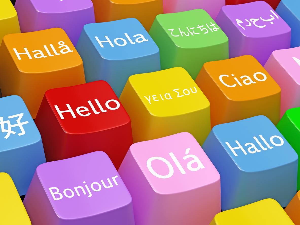 Foreign-language keyboard
