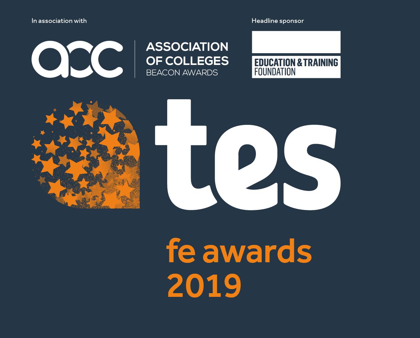Tes FE Awards full logo 2019