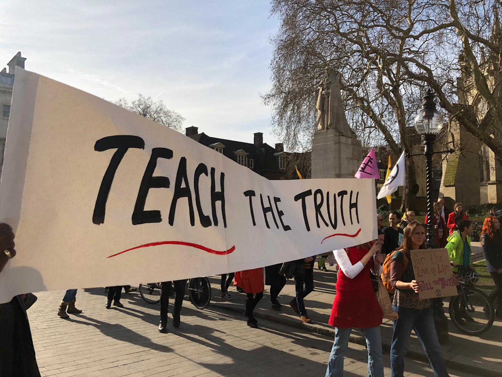 Teach the truth
