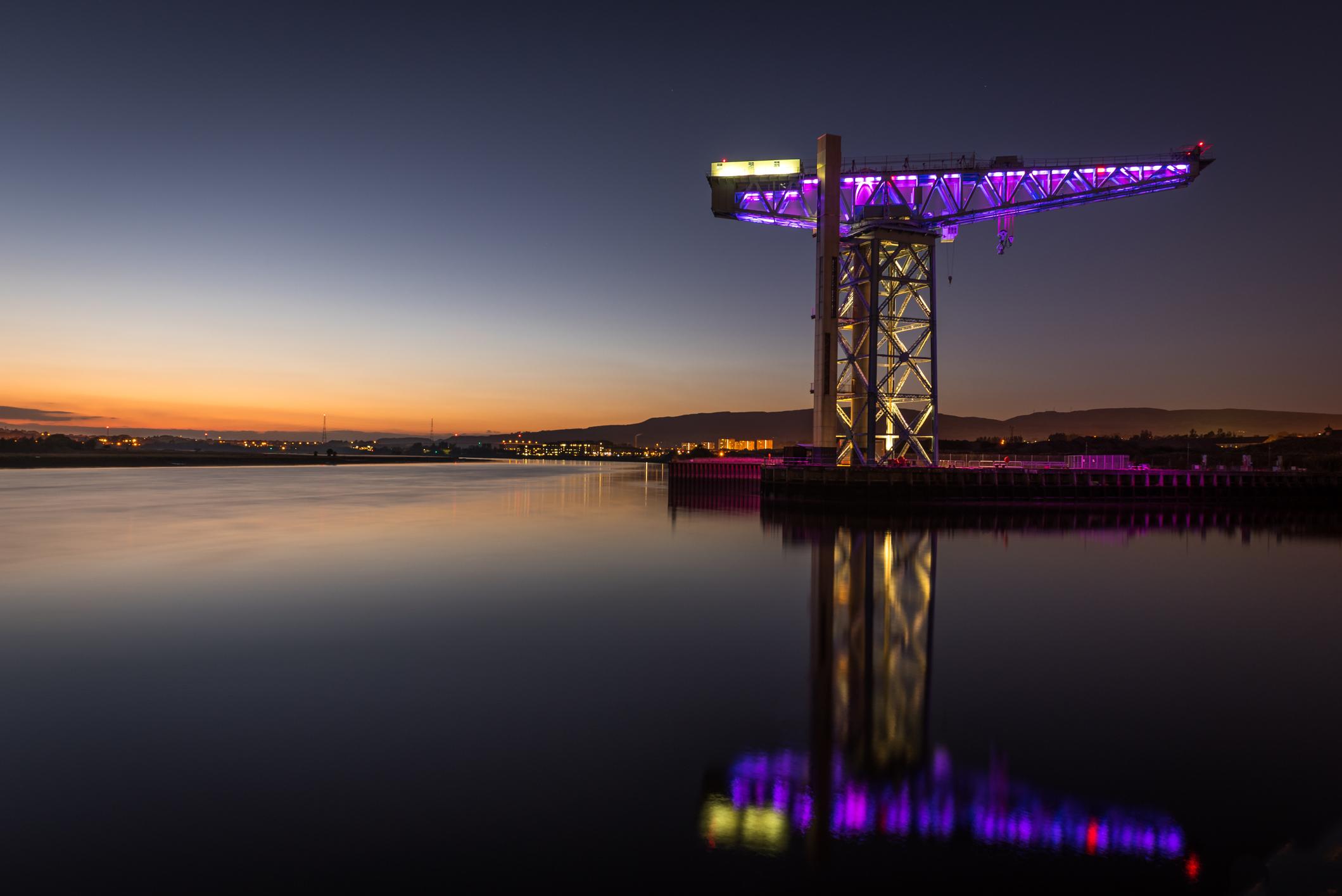 Titan crane Clydebank