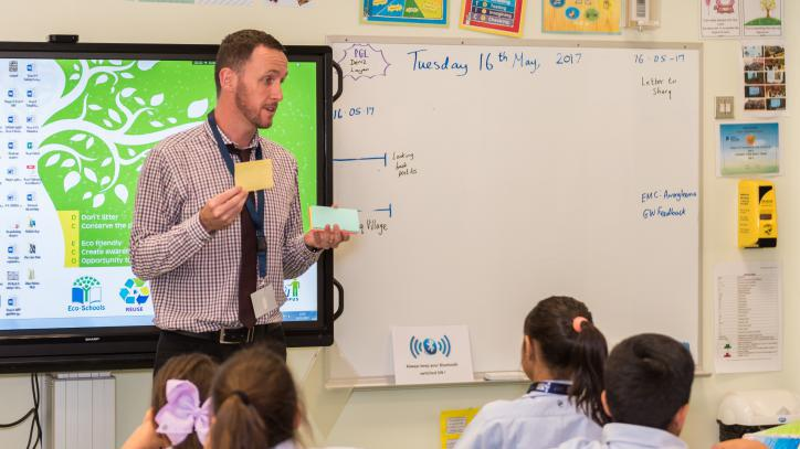 Will Lyons was recently awarded Qualified Teacher Status (QTS