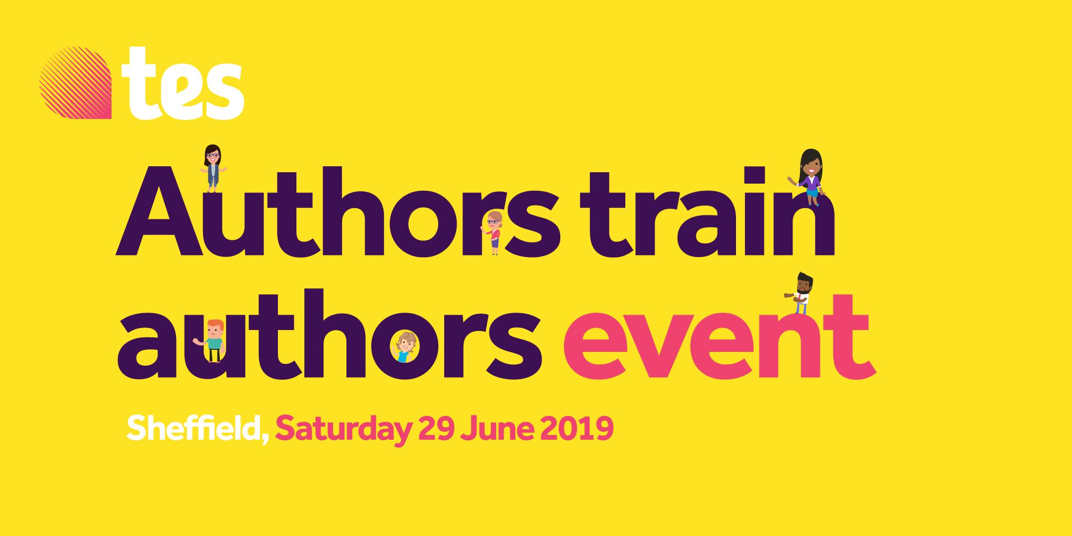 Authors train authors event