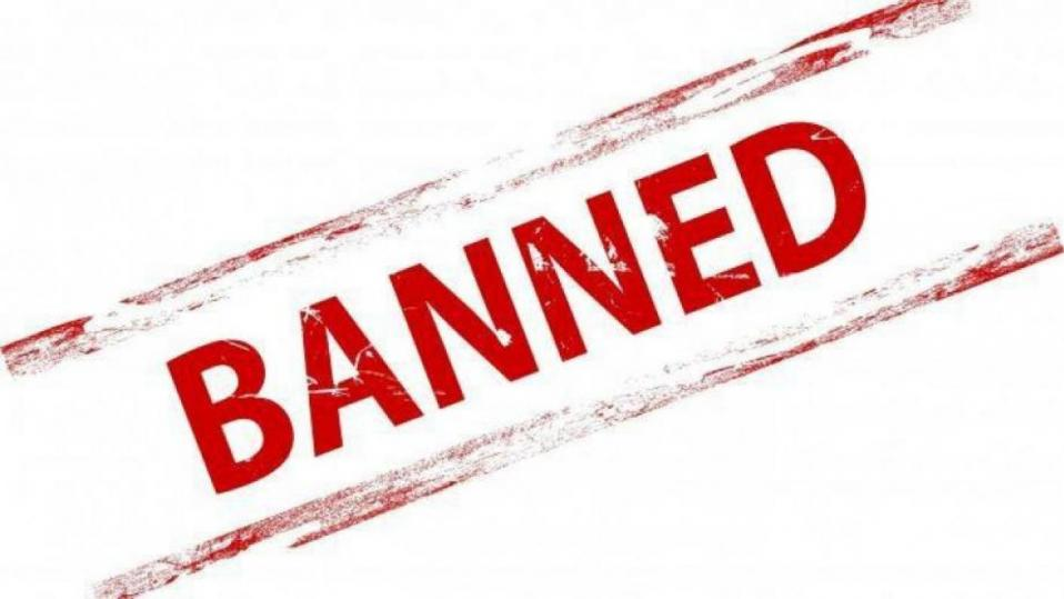 teacher banned