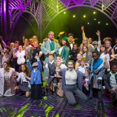 Chickenshed theatre: A Christmas Carol