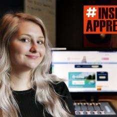 Natasha Palmer has tackled all sorts of challenges in her apprenticeships - including her fear of heights