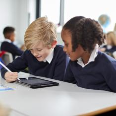 New school league tables show the performance of schools using a progress measure which takes students' backgrounds into account