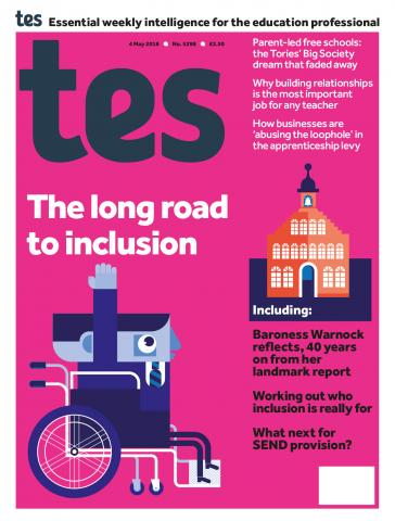 Tes - 4 May 2018 cover image