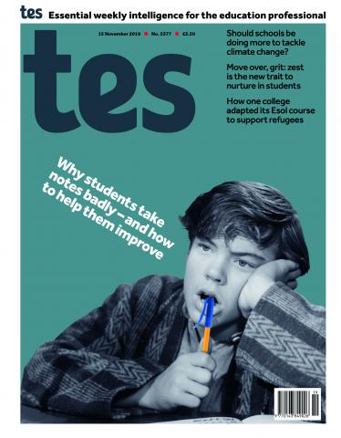 Tes England cover 15/11/19