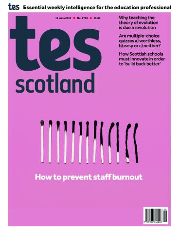 Tes Scotland cover 11/06/21