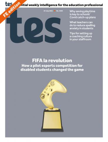 Tes FE cover 23/07/21