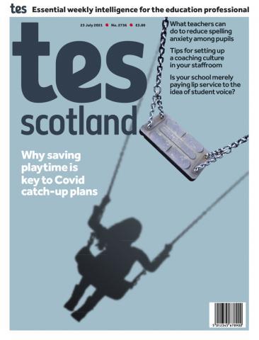 Tes Scotland cover 23/07/21