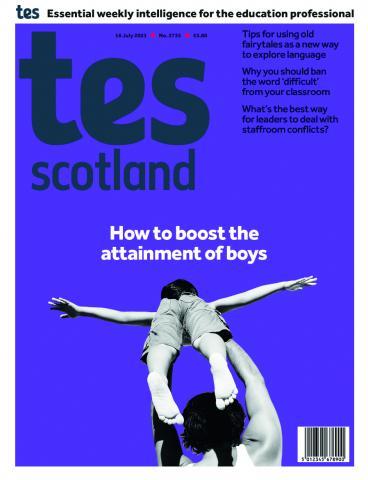 Tes Scotland cover 16/07/21