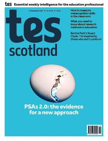 Tes Scotland cover 24/09/21