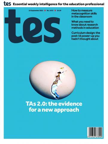 Tes England cover 24/09/21