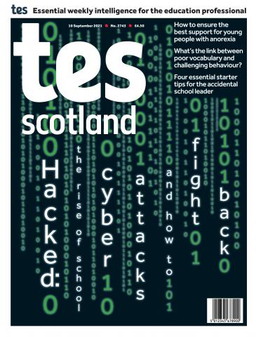 Tes Scotland cover 10/09/21