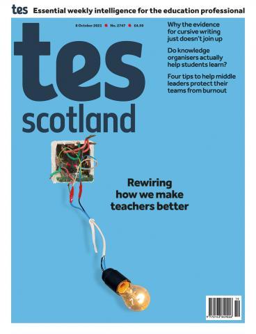 Tes Scotland cover 08/10/21