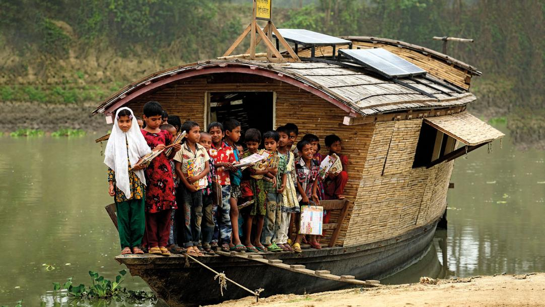 How Bangladesh's schools stay afloat in a crisis