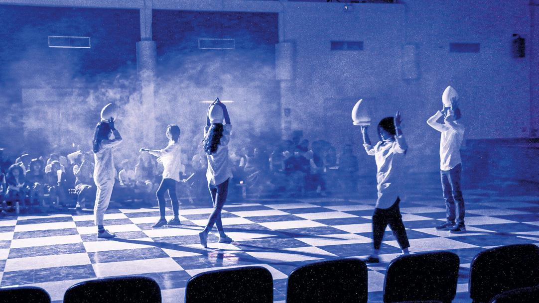 The arts and creativity in international schools: the value of an artists' residency