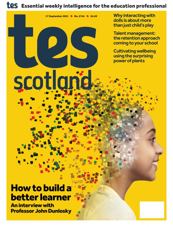 Tes Scotland cover 17/09/21