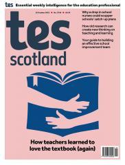Tes Scotland cover 22/10/21