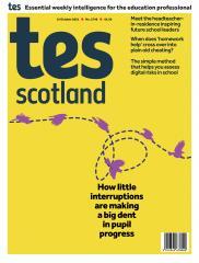 Tes Scotland cover 15/10/21