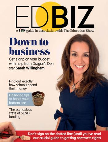 TES: EdBiz 2017 cover image