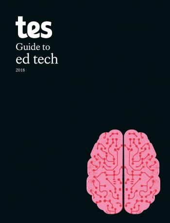 The Tes guide to ed tech cover image