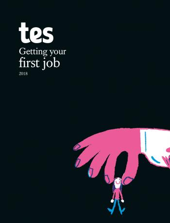 Tes guide to getting your first job cover image