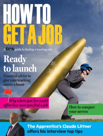 TES - How To Get A Job supplement cover image