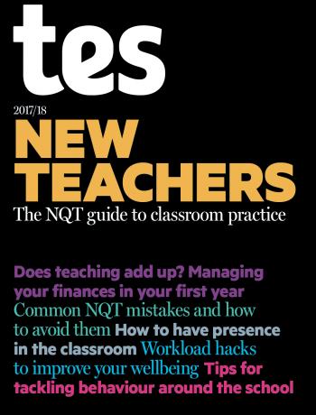 New Teachers 2017/18 cover image