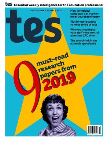 Tes England cover 13/12/19
