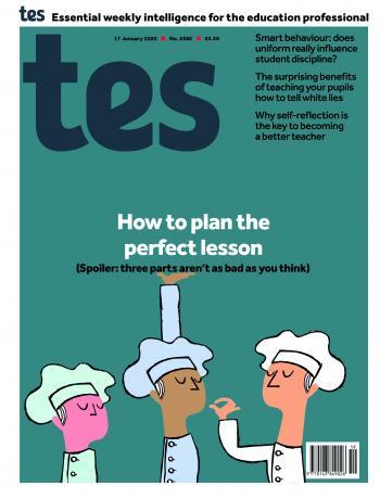 Tes England cover 17/01/20