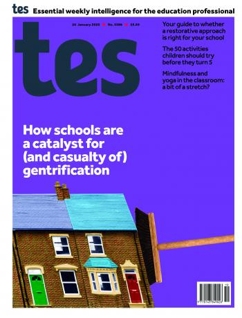 Tes England cover 24/01/20