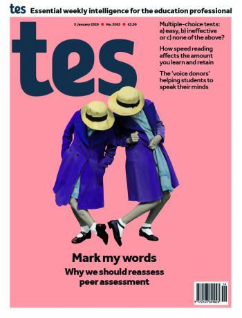Tes England cover 03/01/20