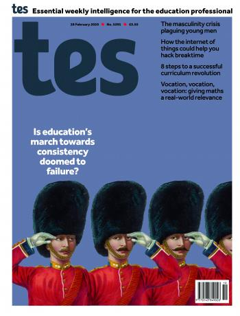 Tes England cover 28/02/20