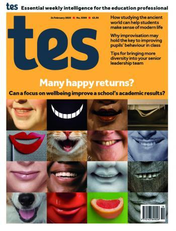 Tes England cover 21/02/20