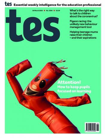 Tes England cover 20/03/20