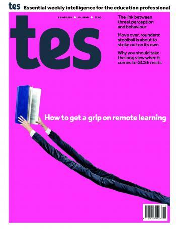 Tes England cover 03/04/20