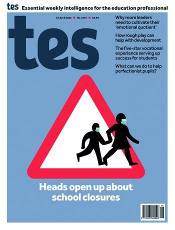 Tes England cover 10/04/20