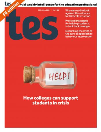 Tes FE cover 30/10/20