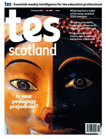 Tes Scotland cover 23/10/20