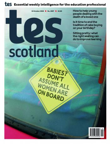 Tes Scotland cover 16/10/20