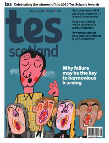 Tes Scotland cover 20/11/20