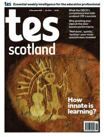 Tes Scotland cover 27/11/20